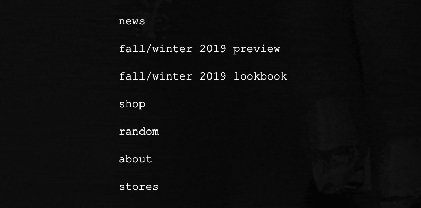Fall/winter 2019 Overview