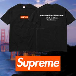 Supreme San Francisco Box Logo Tee
