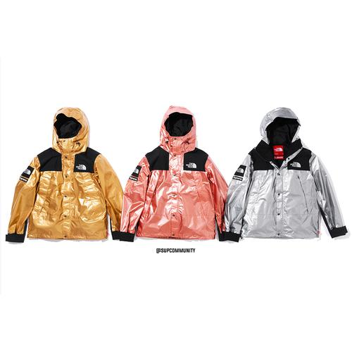 Supreme®/The North Face® Metallic Mountain Parka - Supreme / The North Face SS18 Collaboration