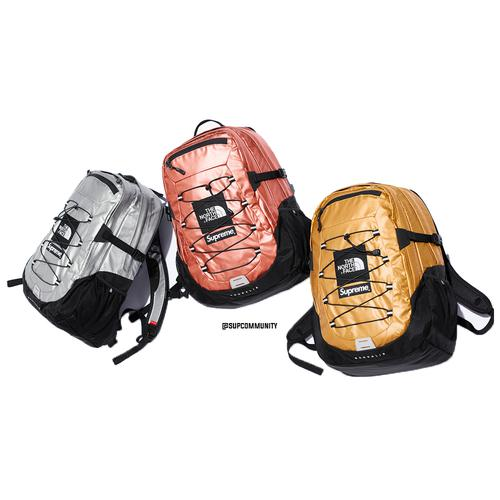 Supreme®/The North Face® Metallic Borealis Backpack - Supreme / The North Face SS18 Collaboration