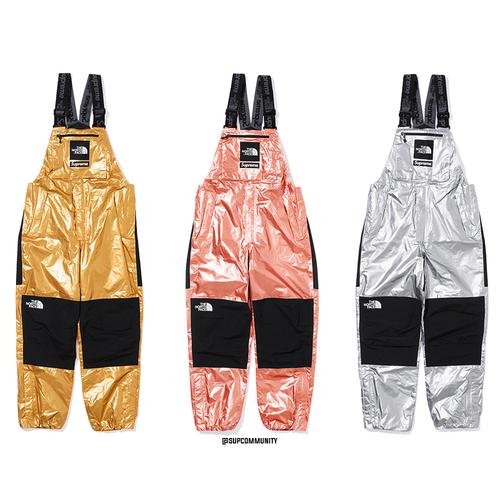 Supreme®/The North Face® Metallic Mountain Bib Pants - Supreme / The North Face SS18 Collaboration