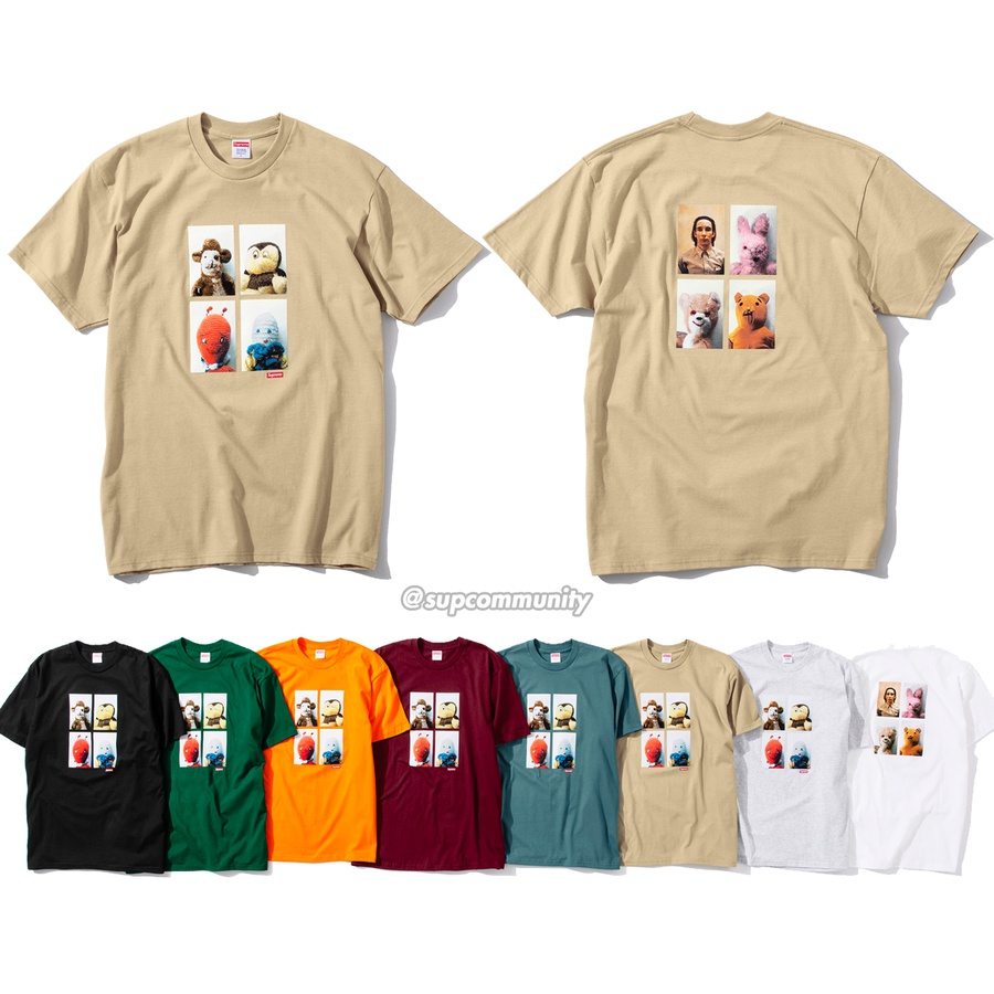 Mike Kelley/Supreme Ahh…Youth! Tee - All cotton classic Supreme t-shirt with printed graphic on front and back. <br><br>© Mike Kelley Foundation for the Arts.