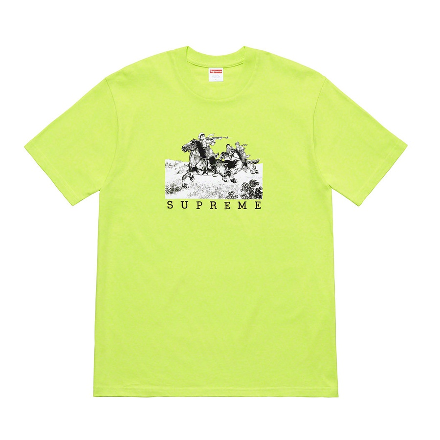 Riders Tee - All cotton classic Supreme t-shirt with printed graphic on front.
