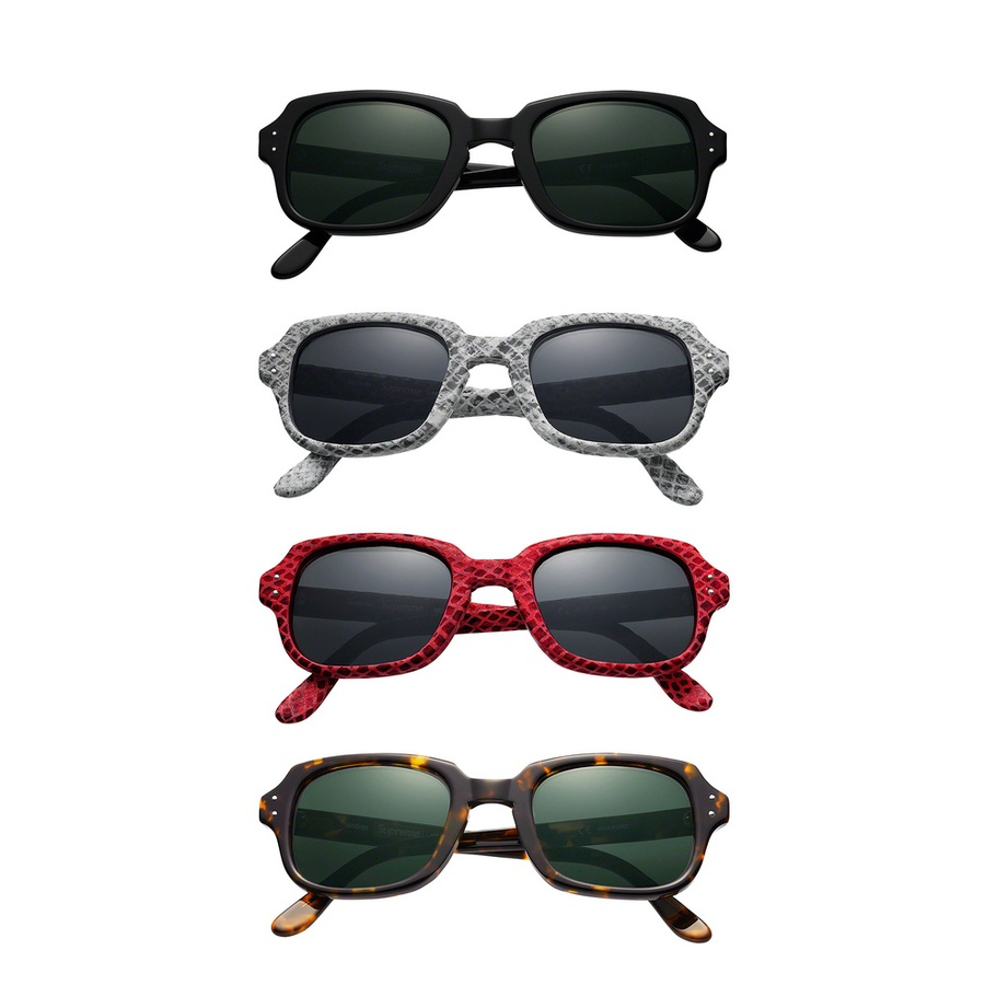 Marvin Sunglasses - Handmade Italian frames in high quality acetate. Anti-reflective coated glass lenses.