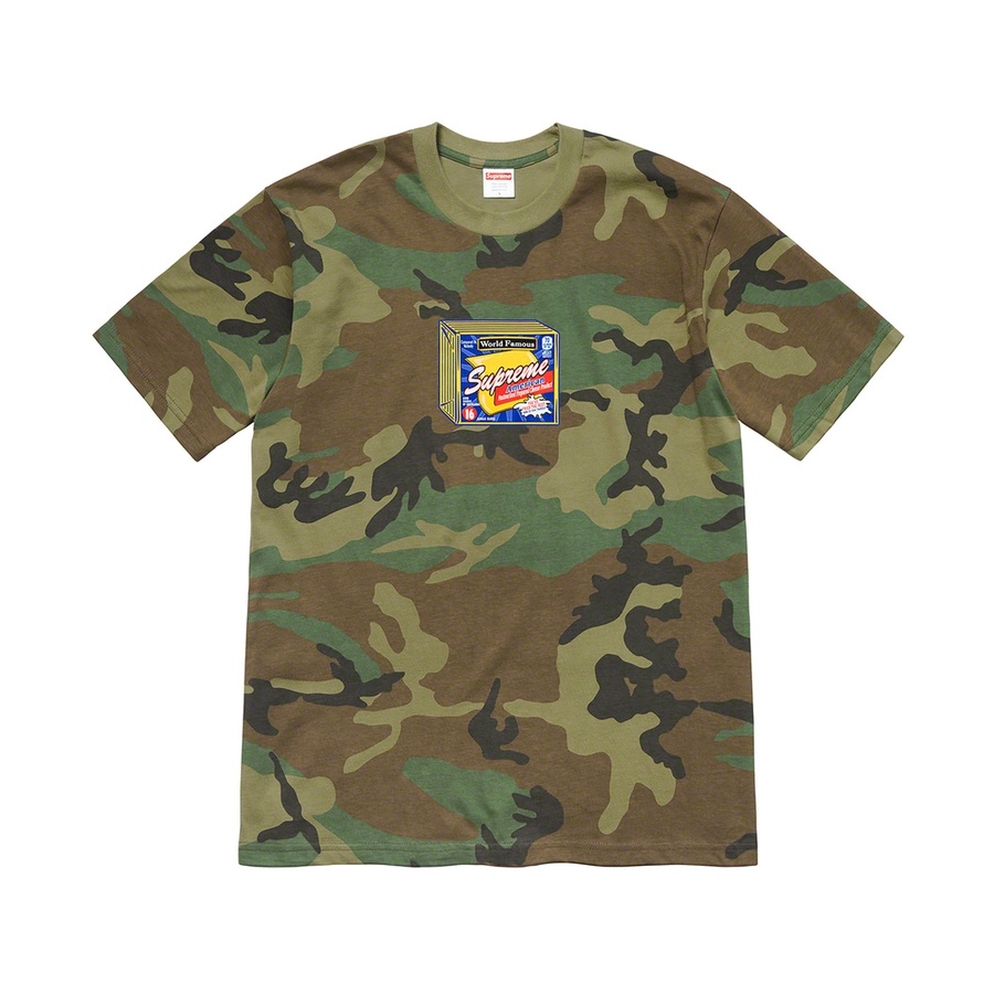 Cheese Tee - All cotton classic Supreme t-shirt with printed graphic on front.