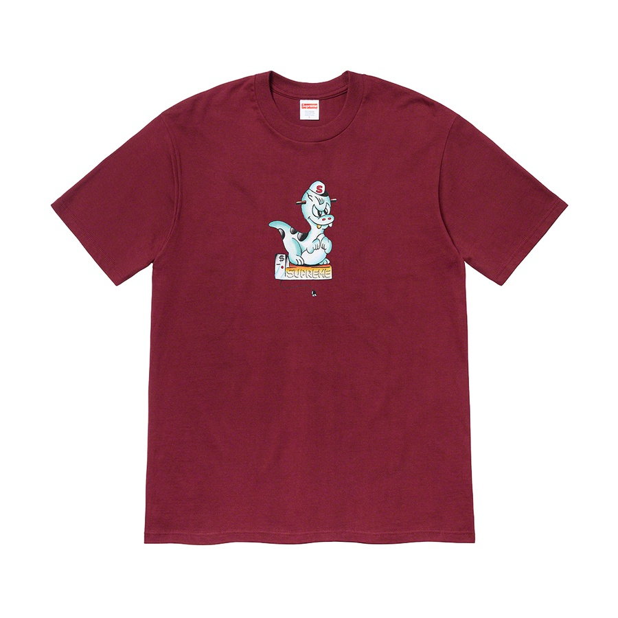 Dinosaur Tee - All cotton classic Supreme t-shirt with printed graphic on front.