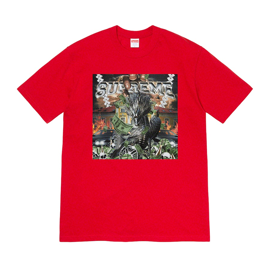 Dragon Tee - All cotton classic Supreme t-shirt with printed graphic on front.