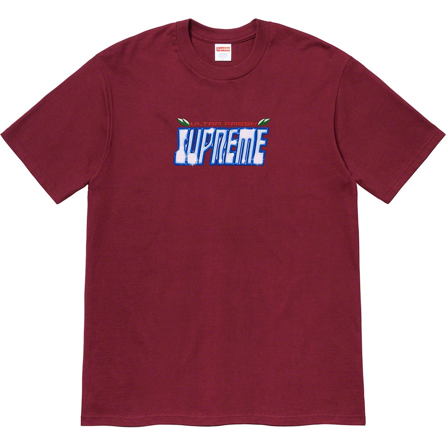 Ultra Fresh Tee - All cotton classic Supreme t-shirt with printed logo on front.