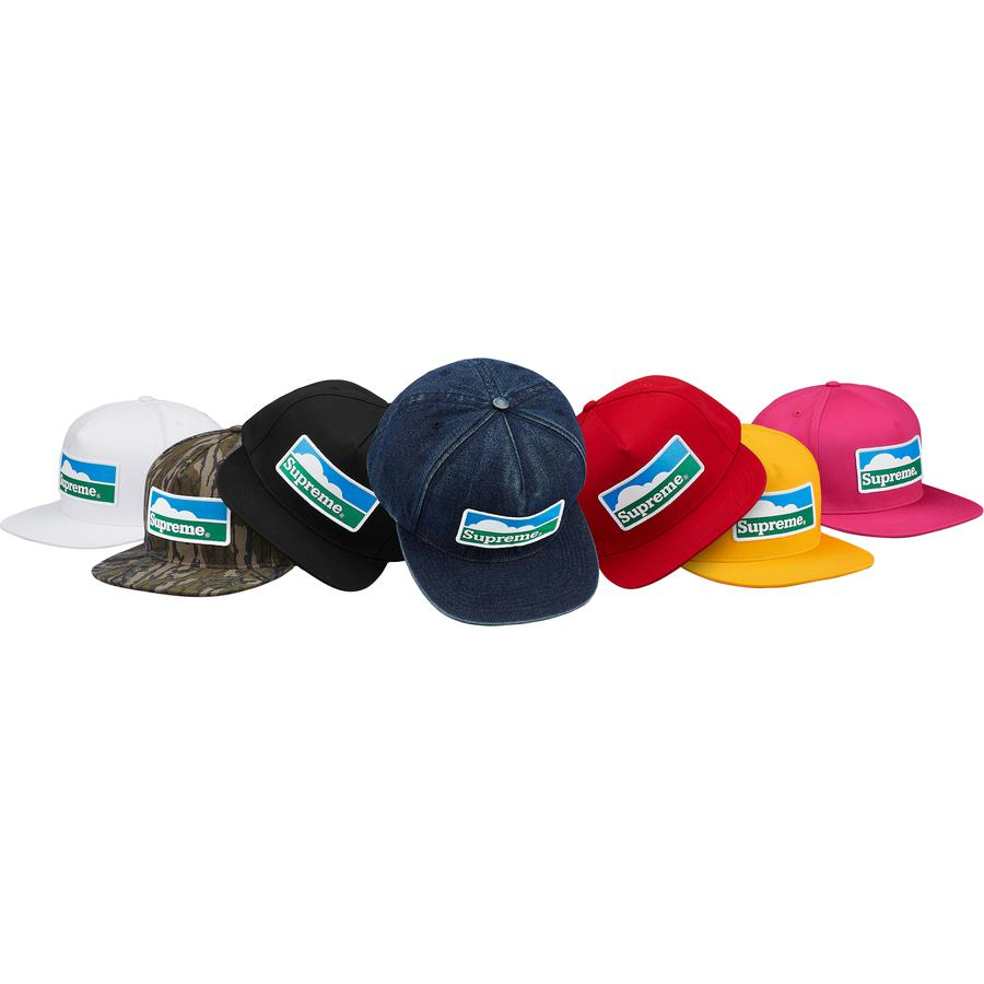 Horizon 5-Panel - Cotton blend 5-Panel hat with snap closure. Printed patch on front and embroidered logo on back.