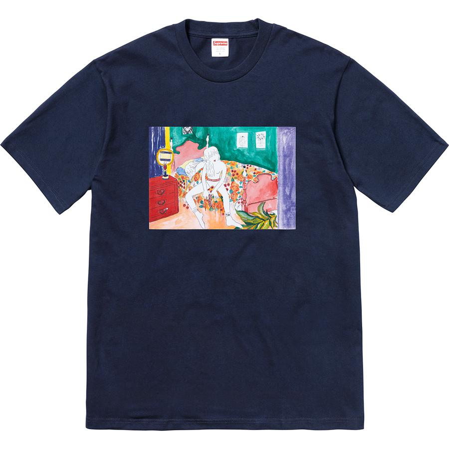 Bedroom Tee - All cotton classic Supreme t-shirt with printed graphic on front.