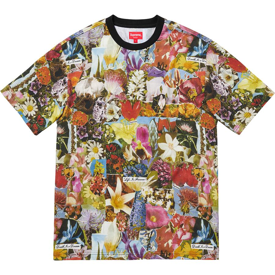 Dream S/S Top - All cotton jersey crewneck with printed graphic.