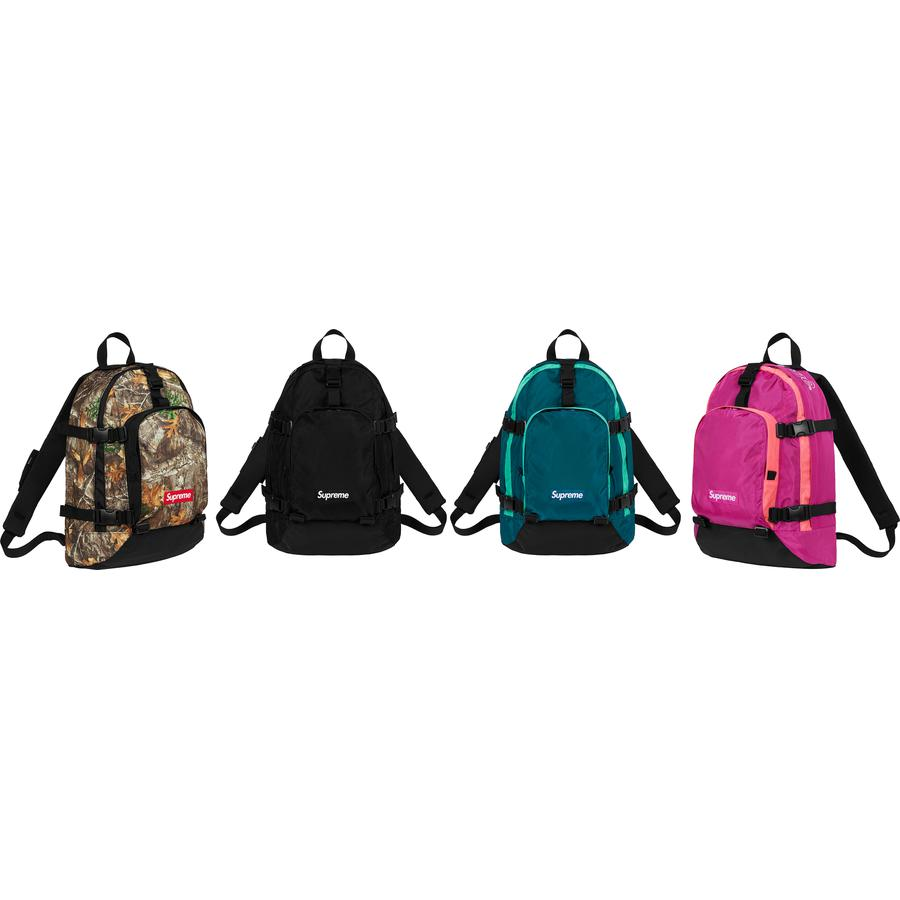 Backpack - Water resistant 630D HT Cordura® nylon with embossed logo lining. Main zip compartment with single layer laptop sleeve and internal zip pocket. Front zip compartment with internal zip pocket and organizer pouch pockets. Zip pocket at right strap and r...
