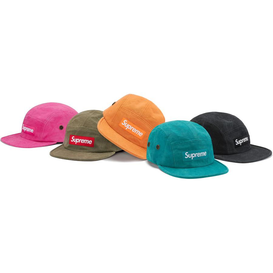 Washed Canvas Camp Cap - All cotton canvas Supreme camp cap.