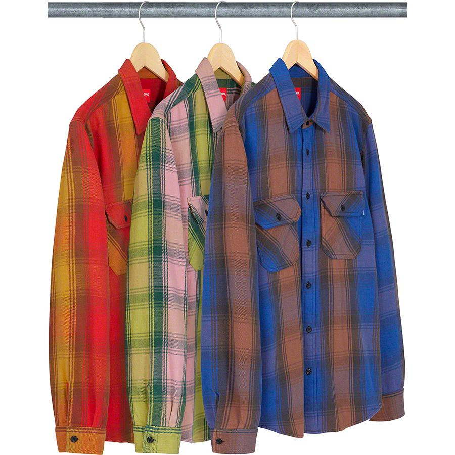 Heavyweight Flannel Shirt - All cotton with utility pockets.