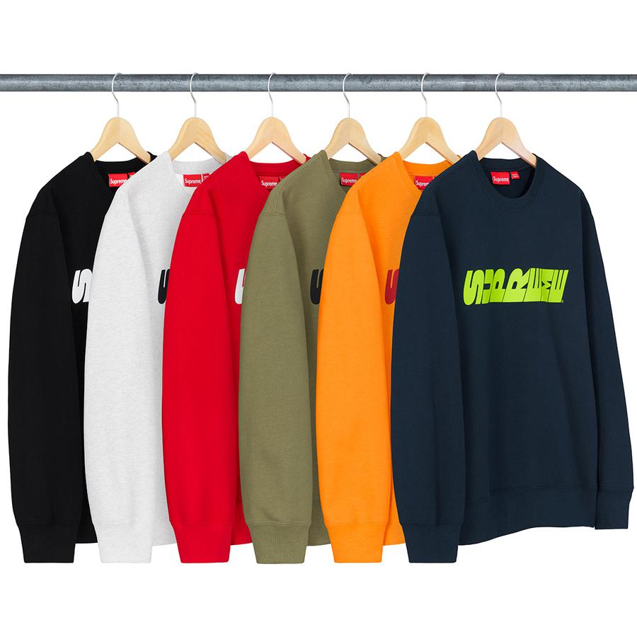 Breed Crewneck - Heavyweight cotton crossgrain fleece with printed logo on chest.