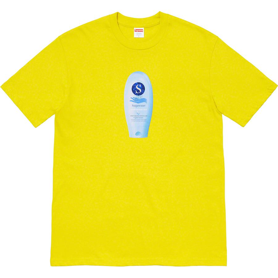 Super Cream Tee - All cotton classic Supreme t-shirt with printed graphic on front.
