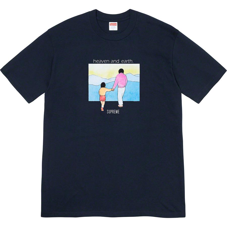 Heaven and Earth Tee - All cotton classic Supreme t-shirt with printed graphic on front.