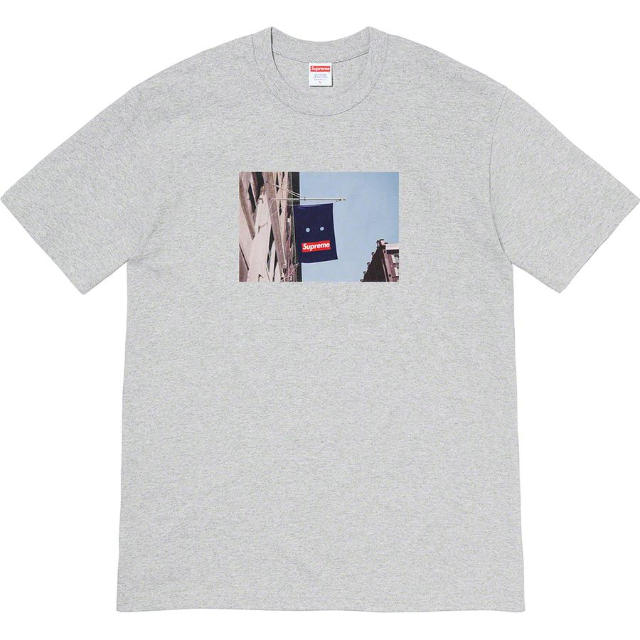 Banner Tee - All cotton classic Supreme t-shirt with printed graphic on front.
