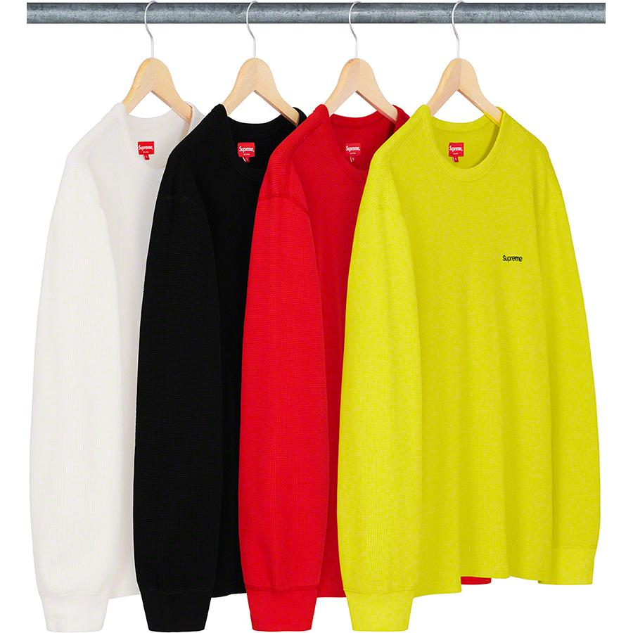 HQ Waffle Thermal - All cotton waffle thermal with embroidered logos on front and back.