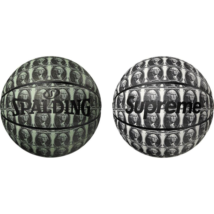 Supreme®/Spalding® Washington Basketball - Spalding® composite leather indoor basketball with printed pattern and embossed logo. Made exclusively for Supreme.