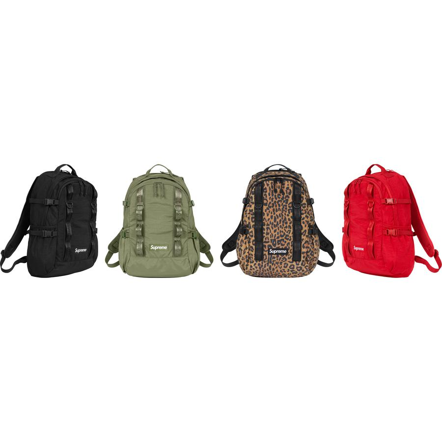 Backpack - Water resistant 315D Cordura® nylon crinkle twill with embossed logo lining. Main zip compartment with single layer laptop sleeve and interior zip pocket. Front zip compartment, top zip pocket and elastic side pockets. Padded mesh back panel and compr...
