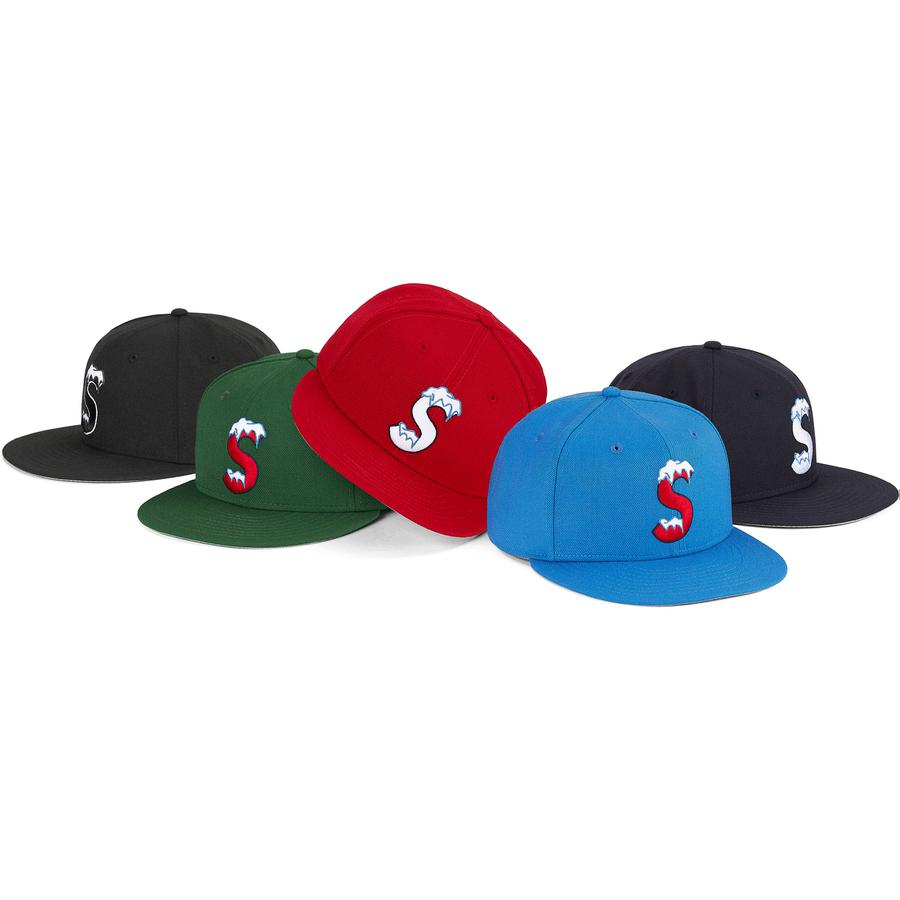 S Logo New Era® - All wool New Era® 59FIFTY baseball hat with embroideries on front, side and back.