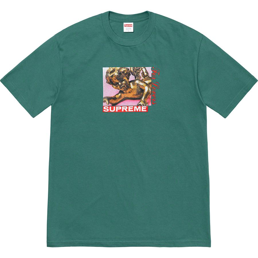 Lovers Tee - All cotton classic Supreme t-shirt with printed graphic on front.