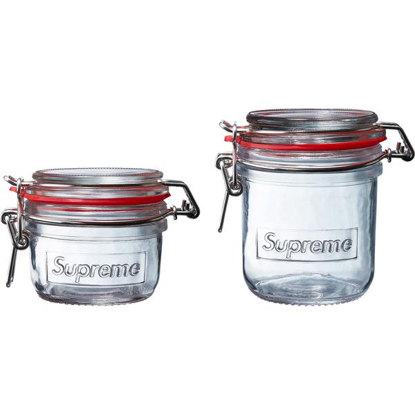Jar Set (Set of 2) - 170 mL and 325 mL jars with clasp closures. Sold as a set of two.