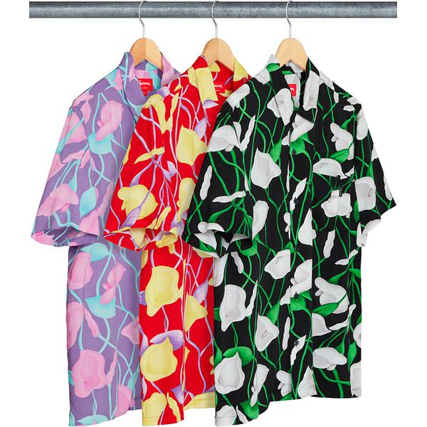 Lily Rayon Shirt - Rayon with printed pattern and single chest pocket.