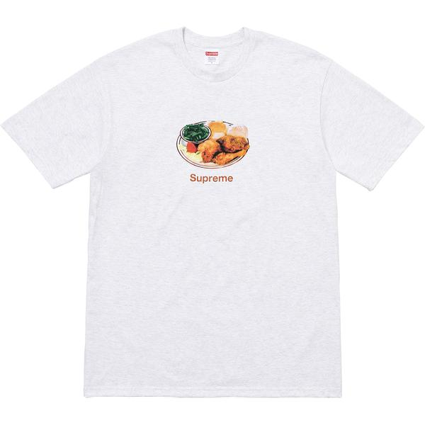 Chicken Dinner Tee - All cotton classic Supreme t-shirt.