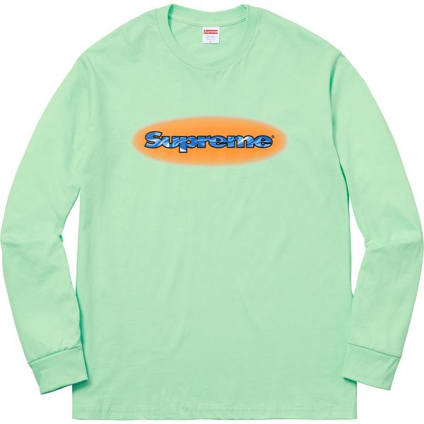 Ripple L/S Tee - All cotton classic Supreme long sleeve t-shirt.