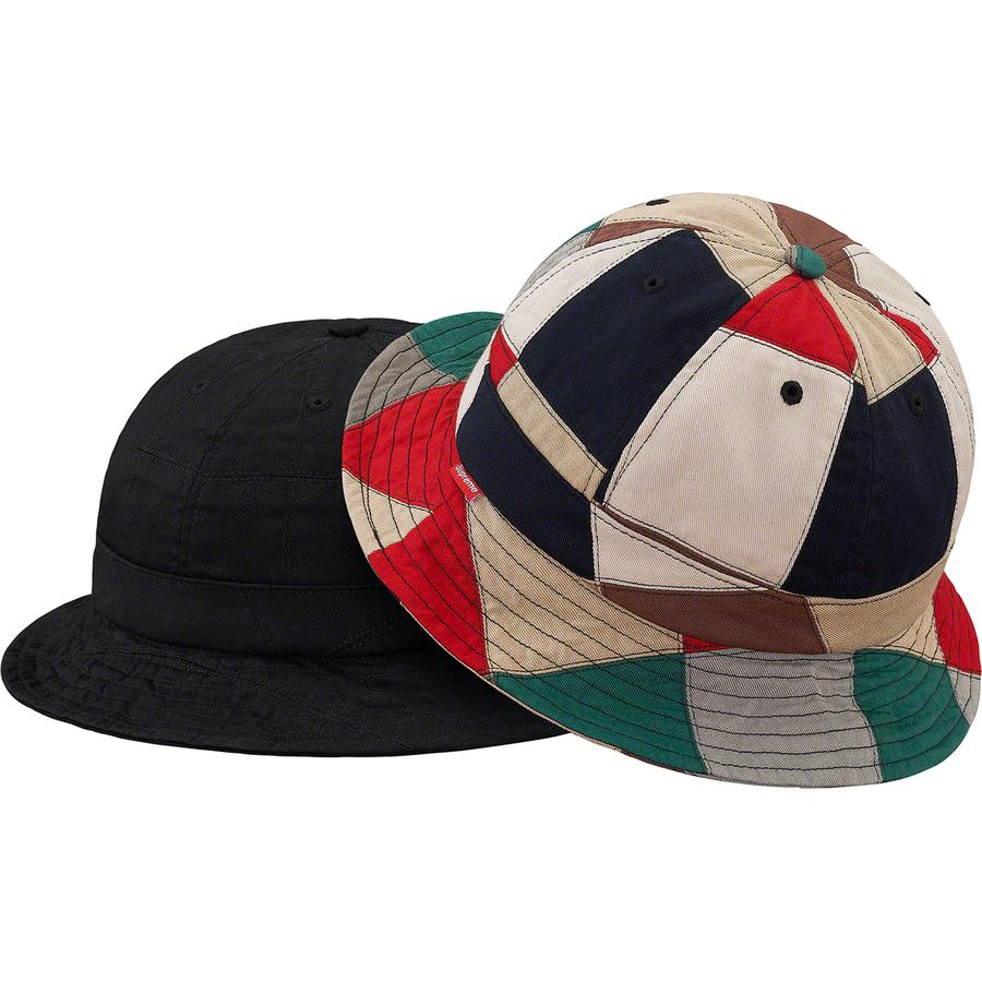 Patchwork Bell Hat - All cotton bell hat with patchwork pattern.