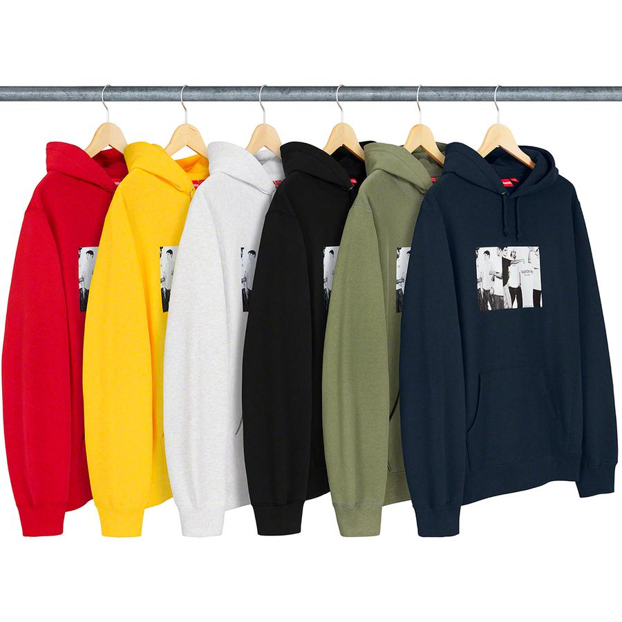 Classic Ad Hooded Sweatshirt - Cotton fleece with rib gussets, pouch pocket and printed graphic on chest.