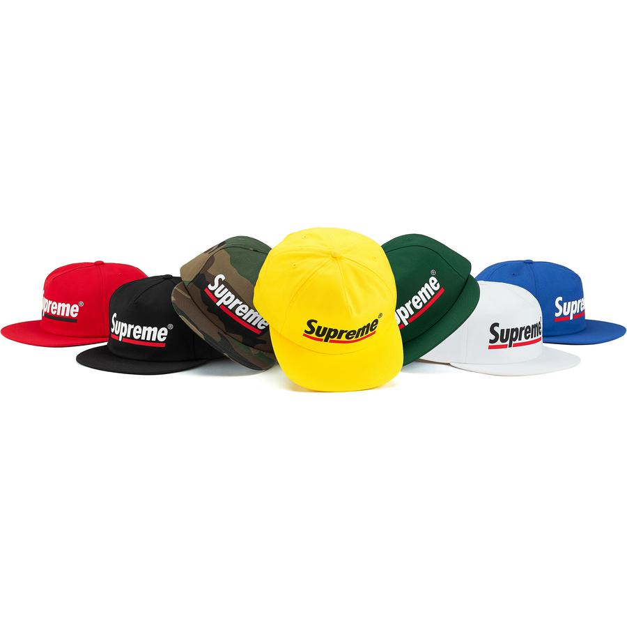 Underline 5-Panel - Cotton blend twill 5-Panel hat with snap closure. Printed logo on front and embroidered logo on back.