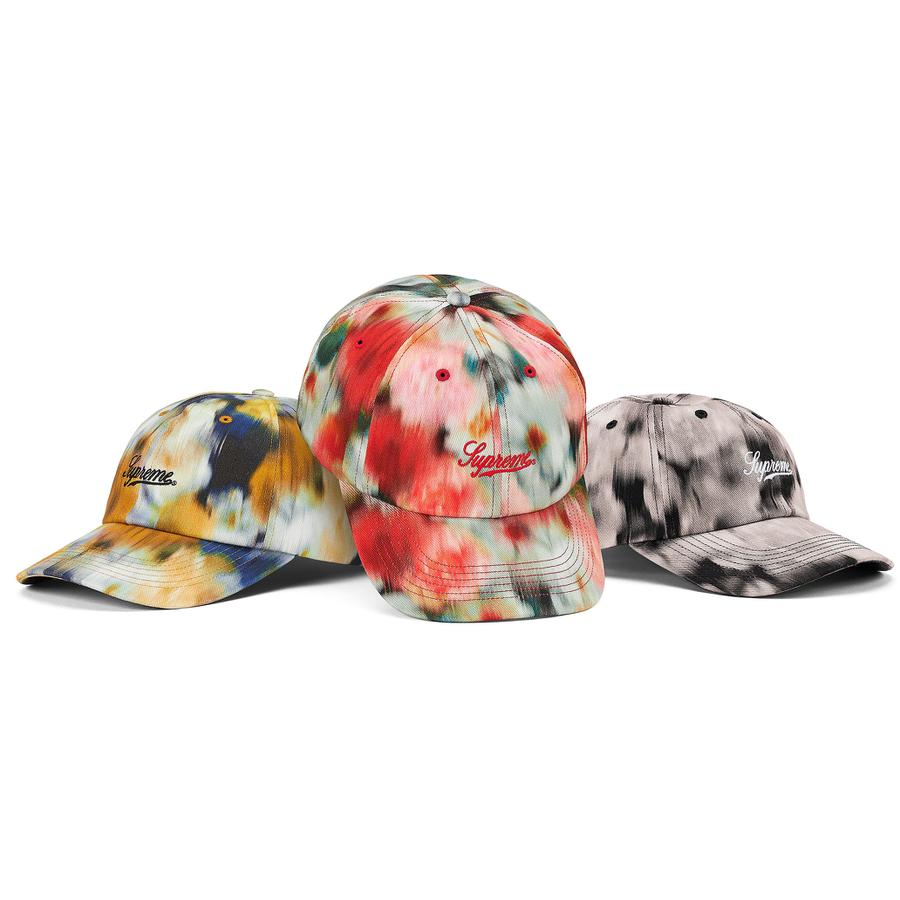 Liberty Floral 6-Panel - All cotton twill 6-Panel hat with self strap closure and embroidered logo on front.