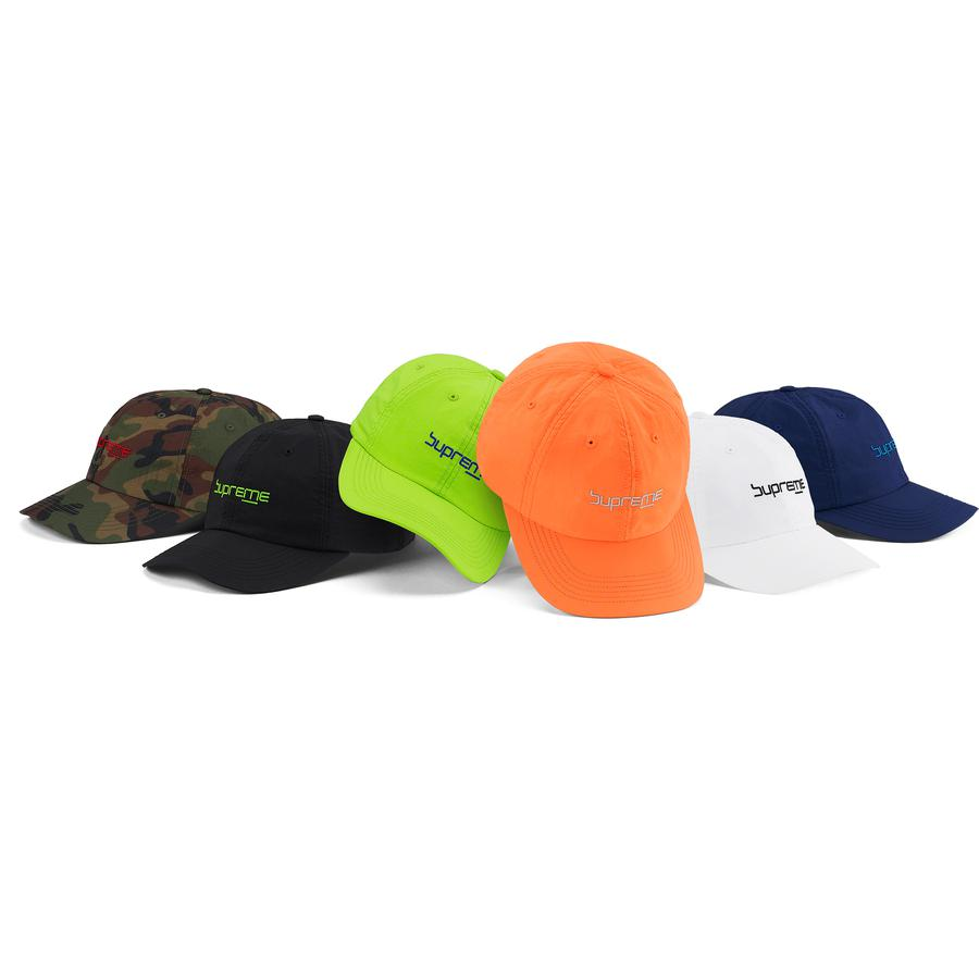 Digital Logo 6-Panel - Nylon 6-Panel hat with webbing strap closure. Embroidered logo on front.