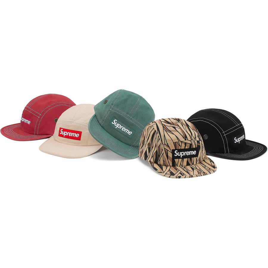 Field Camp Cap - All cotton canvas Supreme camp cap.