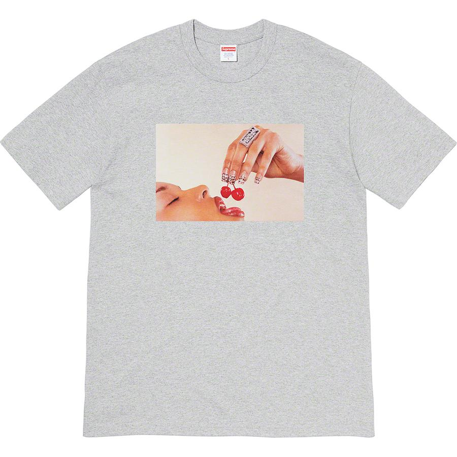 Cherries Tee - All cotton classic Supreme t-shirt with printed graphic on front.