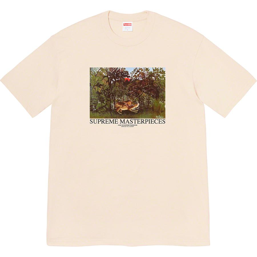 Masterpieces Tee - All cotton classic Supreme t-shirt with printed graphic on front.