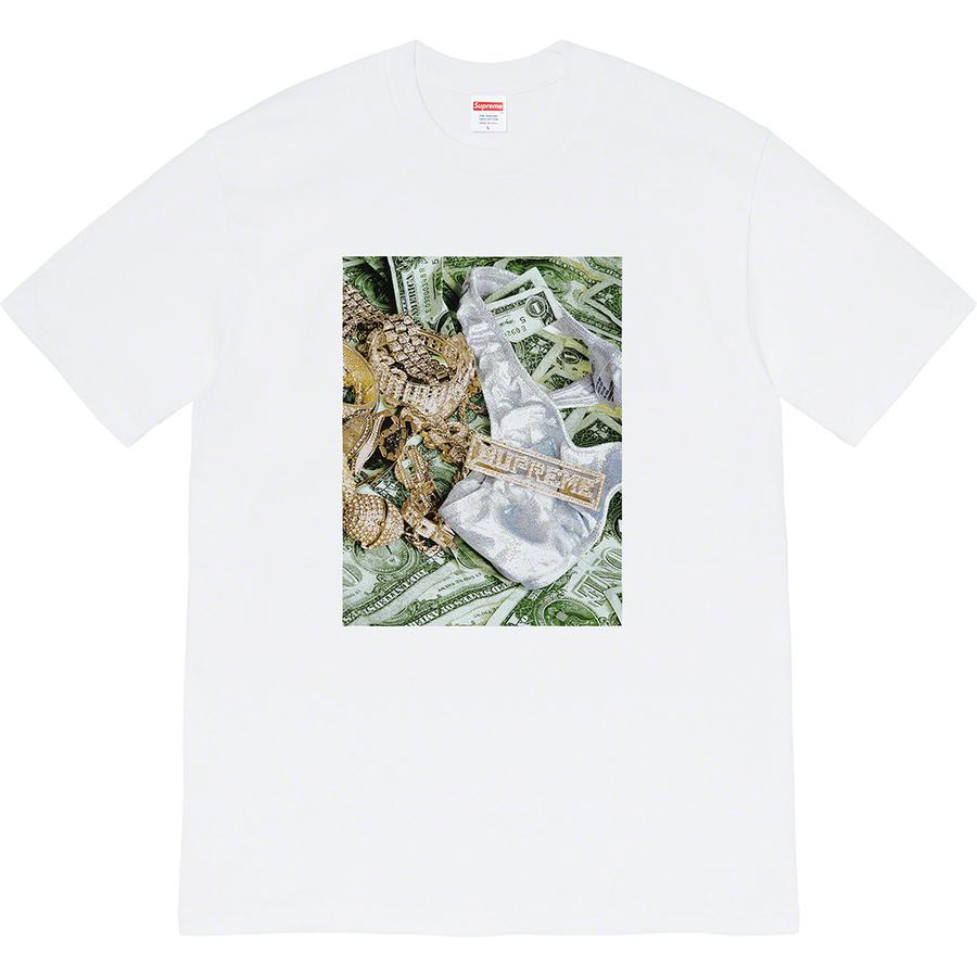 Bling Tee - All cotton classic Supreme t-shirt with printed graphic on front.