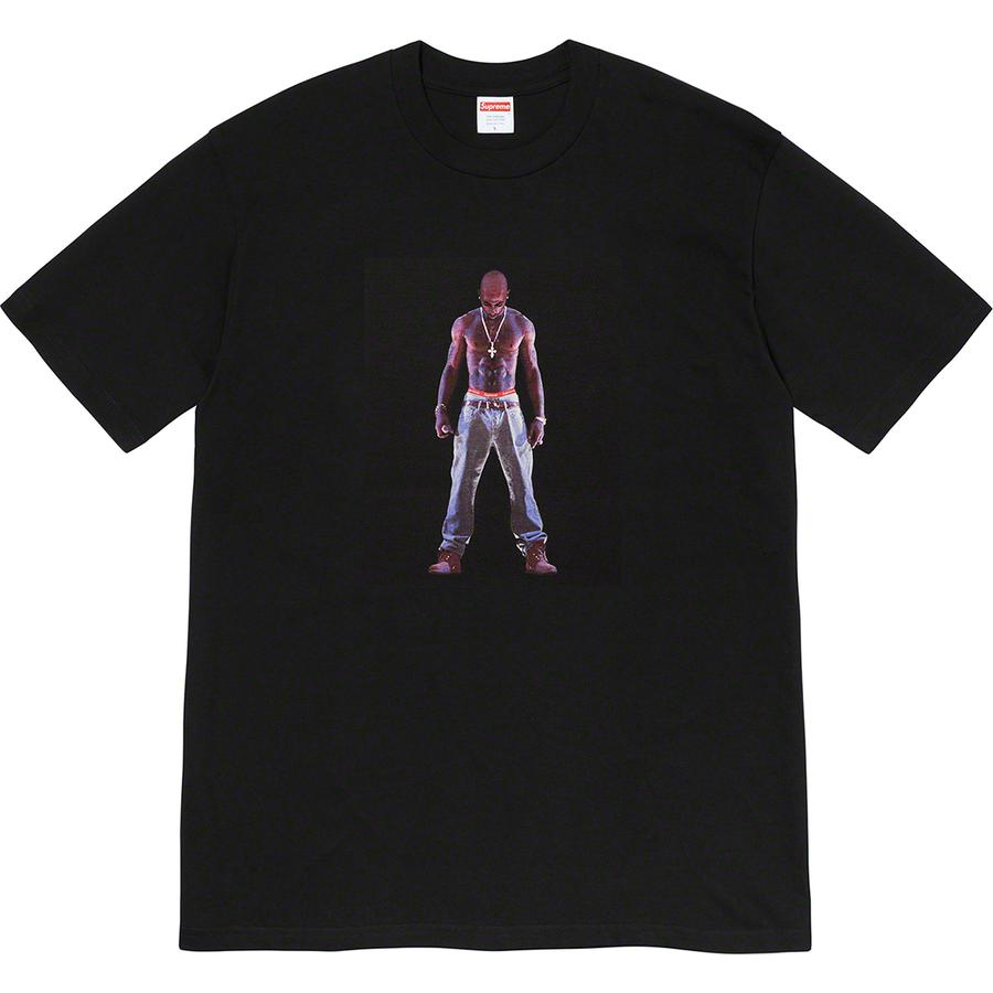 Tupac Hologram Tee - All cotton classic Supreme t-shirt with printed graphic on front.